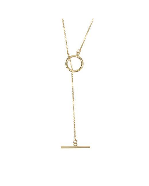 Alison Fern Jewellery - Metallic Yellow Gold Filled Isla Necklace - Lyst
