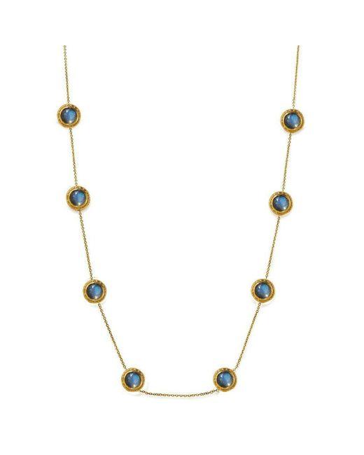 Susan Wheeler Design - Multicolor Long Labradorite Necklace - Lyst
