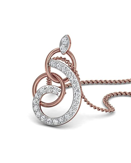 Diamoire Jewels Hand-carved 18kt Rose Gold Diamond Pave Pendant Hw1T9oyr6