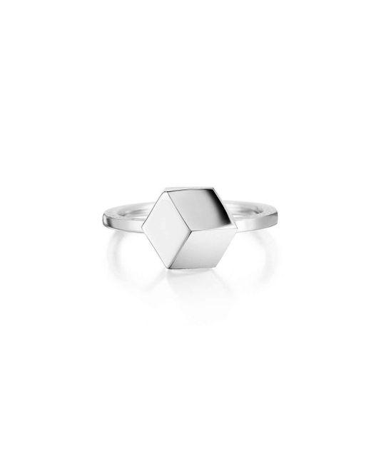 Paolo Costagli New York - Metallic White Gold Brilliant Ring, Petite - Lyst