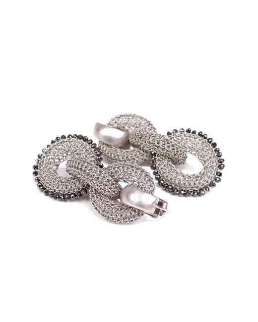 Tove Rygg | Metallic Goddess Ocean Link Earrings | Lyst
