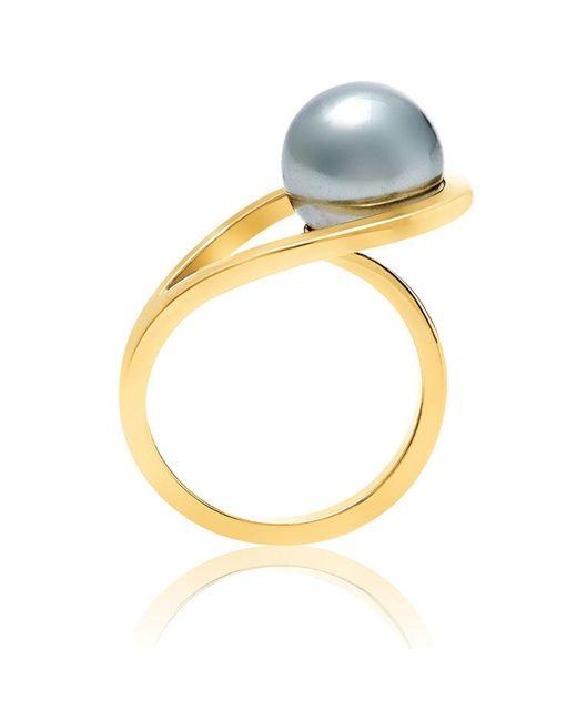 Neola - Metallic Aurea Gold Ring - Lyst
