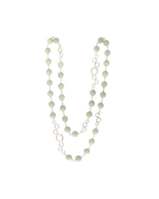 Erin Cox Jewellery - Metallic Bubble Bead Necklace - Lyst