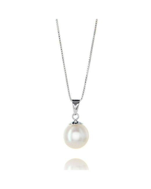 Brian Gavin Diamonds - White Freshwater Fine Quality Pearl Pendant Necklace - Lyst