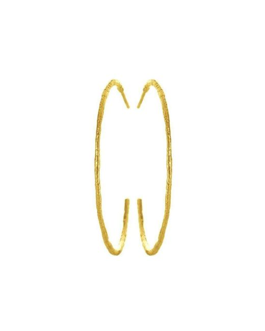 Susan Wheeler Design - Multicolor Skinny Hoops - Lyst