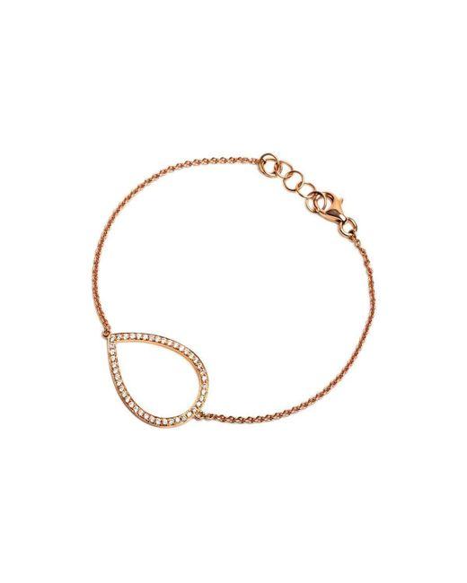 Bridget King Jewelry   Multicolor Diamond Rose Teardrop Bracelet   Lyst
