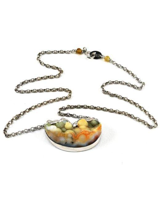 BethCarina | Metallic Nimbus Necklace | Lyst