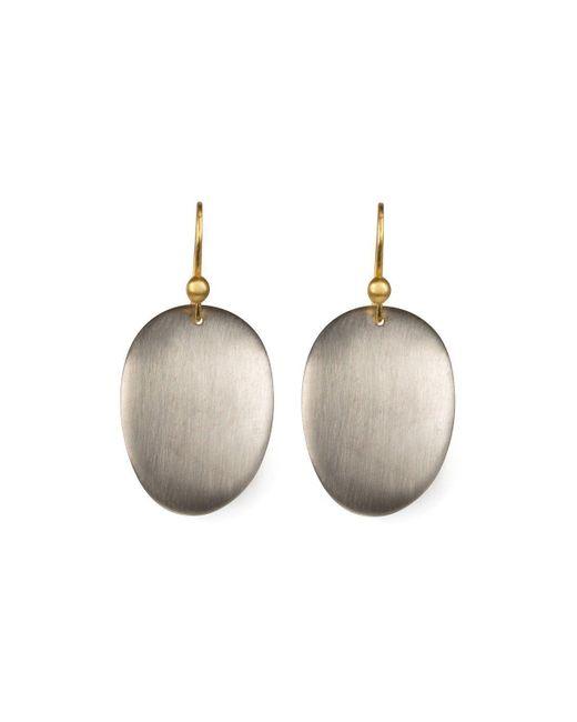 juniimjuli - Natural Gold & Silver Shiny Baobab Earrings | - Lyst