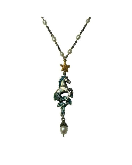 Russell Lownsbrough - Multicolor Hippocamp Necklace - Lyst