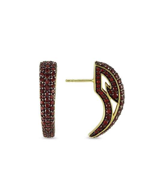REALM | Multicolor Sceptre Pave Talon Earring | Lyst