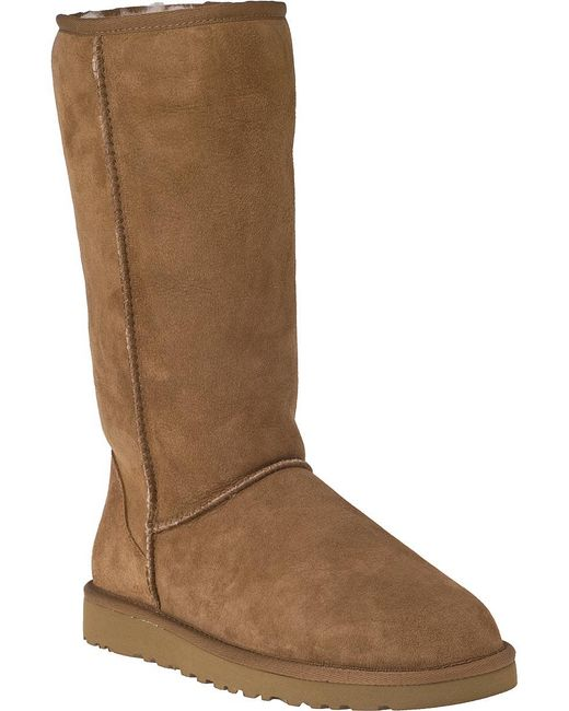 Ugg | Brown Classic Tall Suede Boots | Lyst