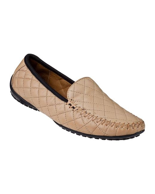 Robert Zur | Natural Quana Loafer Shell Leather | Lyst