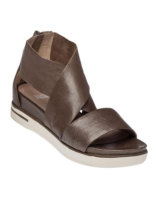 Eileen Fisher | Metallic Sport Platform Sandal Bronze Leather | Lyst