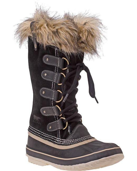 Sorel | Joan Of Arctic Boot Black Suede | Lyst