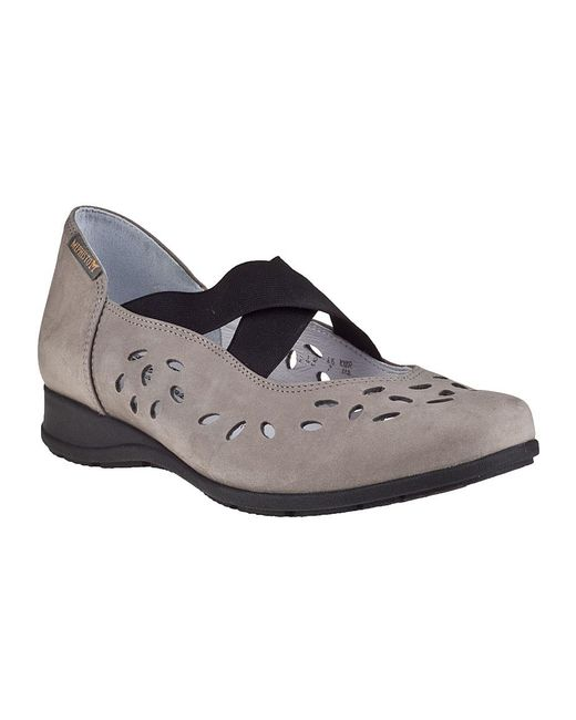 Mephisto | Gray Grobina Wedge Light Grey Nubuck | Lyst