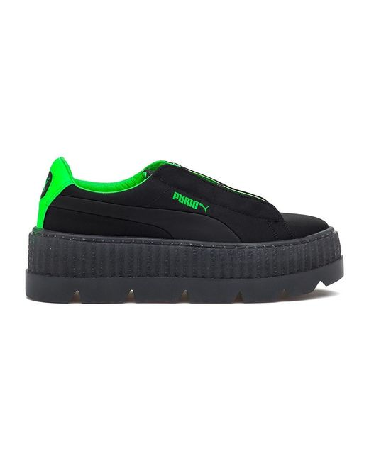 50c9f5a53feb28 Lyst - PUMA Cleated Creeper Surf Sneakers in Green - Save 23%