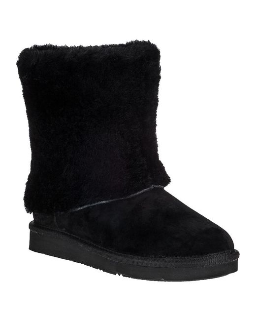 Ugg | Patten Ankle Boot Black Suede | Lyst