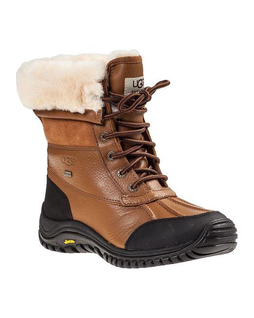 Ugg | Brown Adirondack Ii Snow Boot Tan Leather | Lyst