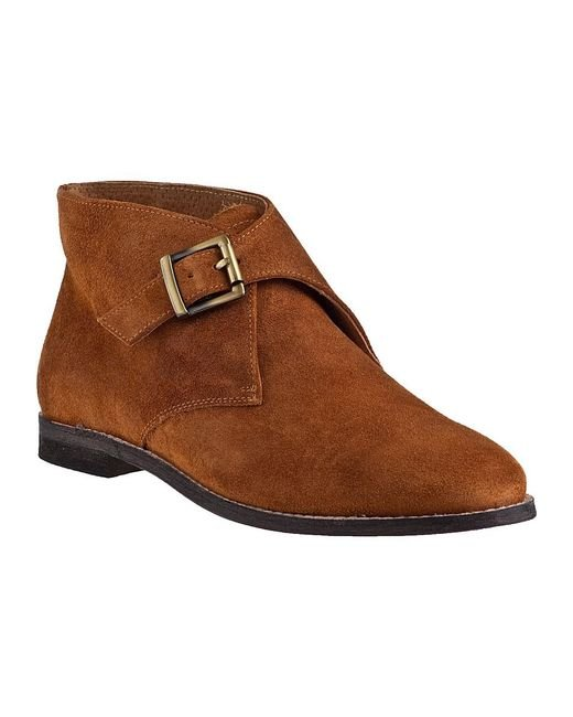 Johnston & Murphy | Brown Belle Monk-Strap Suede Boots | Lyst