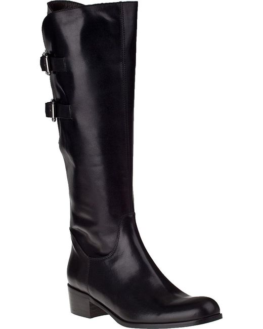 Sesto Meucci | Boomer Riding Boot Black Leather | Lyst