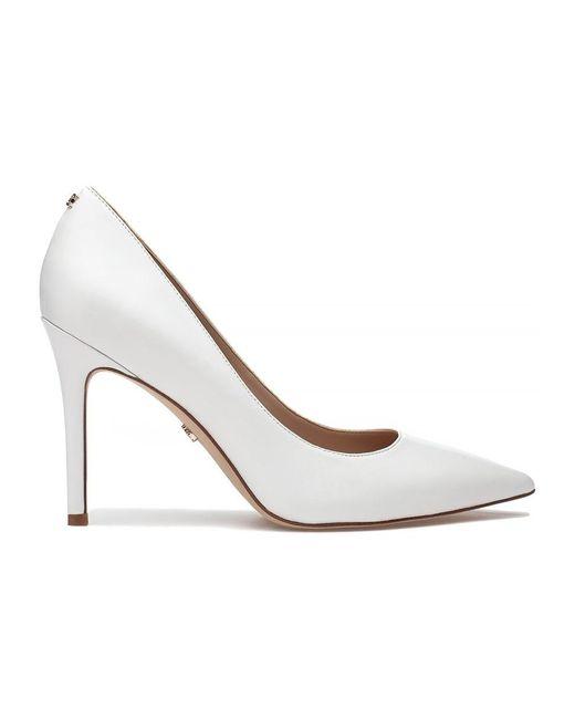 b72b462c579 Lyst - Sam Edelman Hazel Pump Bright White in White - Save 62%