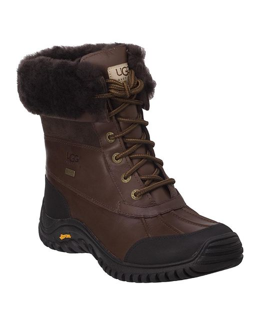 Ugg | Adirondack Ii Snow Boot Brown Leather | Lyst