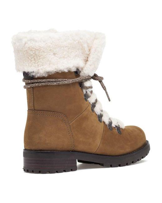 7c10b2189c8c ... Ugg - Brown Fraser Lace Up Boot Chestnut - Lyst ...