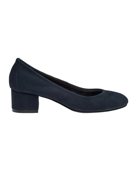 2b487be6334 Lyst - Jeffrey Campbell Bitsie 2 Nubuck-Leather Pumps in Blue - Save ...