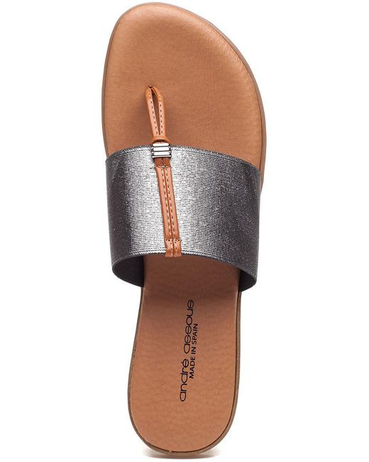 db66ce78b7ce ... Andre Assous - Multicolor Nice Thong Sandals - Lyst ...