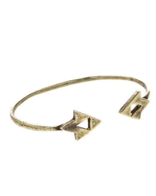 Jill Golden | Metallic Vertex Cuff | Lyst