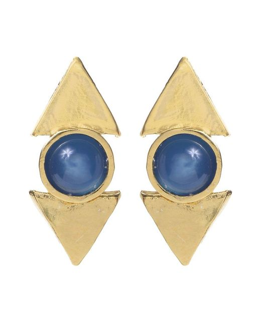 Jill Golden | Blue Reflection Cab Stud | Lyst