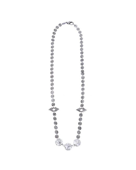 Jill Golden | Metallic Reflection Crystal Necklace | Lyst