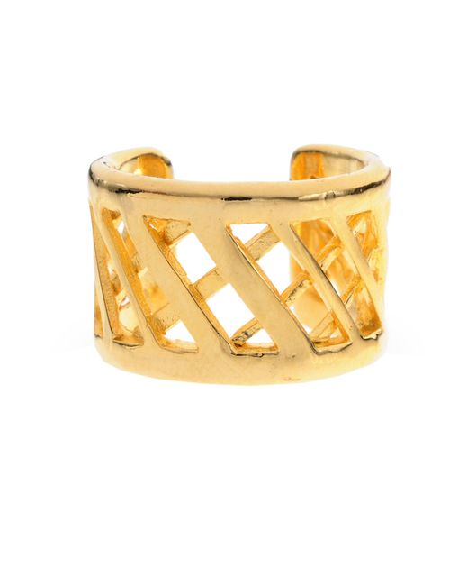 Jill Golden | Metallic Lattice Band | Lyst