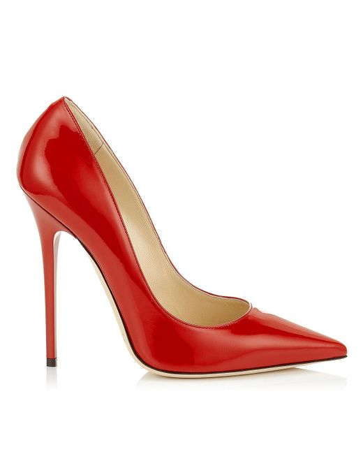 Jimmy Choo | Red Anouk | Lyst