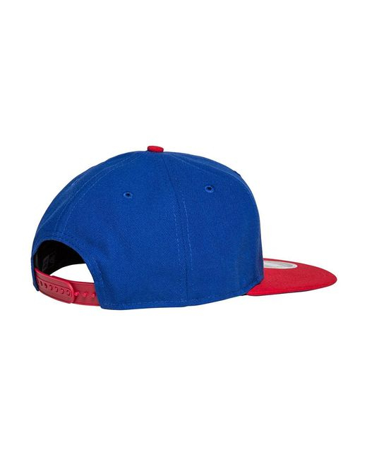 ... KTZ - Blue Detoit Pistons 2 Tone Snapback for Men - Lyst ... aa8f708ece30