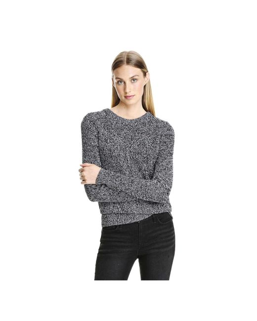 Joe Fresh | Black Marled Stitch Sweater | Lyst