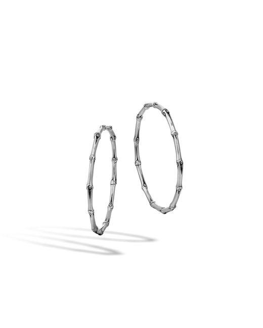 John Hardy | Multicolor Extra Large Hoop Earring | Lyst