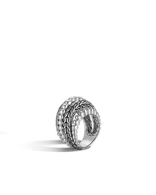 John Hardy | Metallic Classic Chain Dome Ring | Lyst