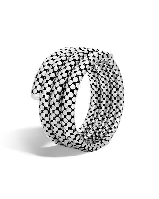 John Hardy   Metallic Triple Coil Bracelet   Lyst