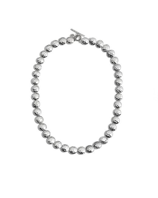 John Hardy | Metallic Hammered Link Necklace | Lyst