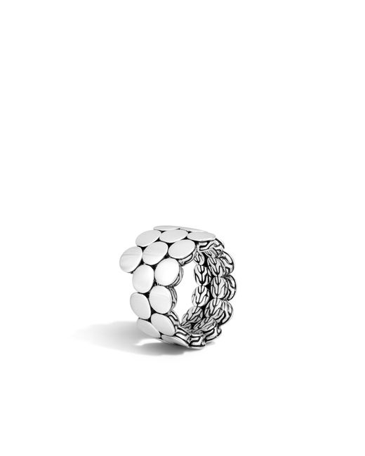 John Hardy | Metallic Coil Ring | Lyst