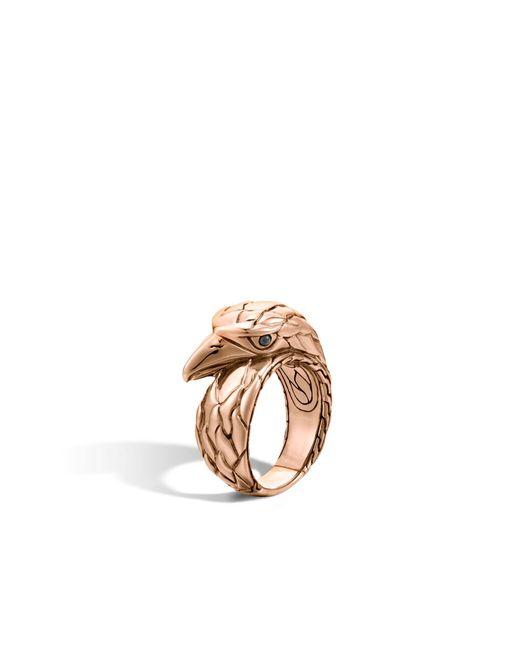 John Hardy | Metallic Eagle Ring for Men | Lyst