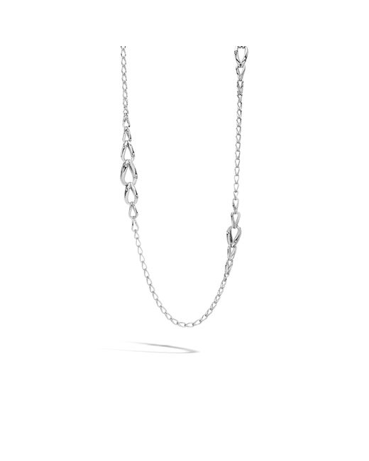 John Hardy | Metallic Graduated Link Necklace | Lyst