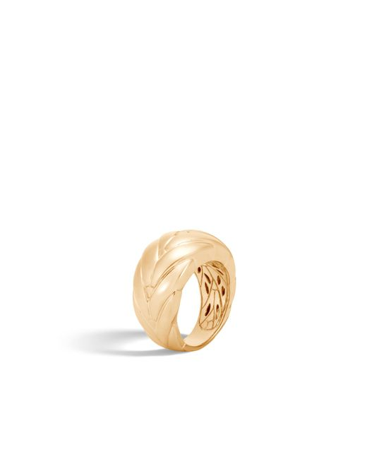 John Hardy - Metallic Modern Chain Ring - Lyst