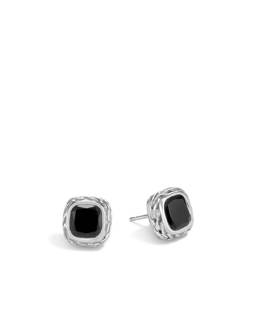 John Hardy - Magic Cut Stud Earring With Black Onyx - Lyst