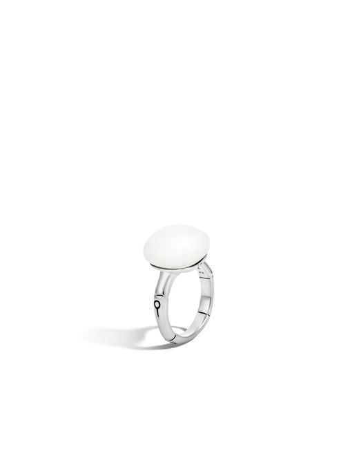John Hardy - Orb Ring With White Moonstone - Lyst