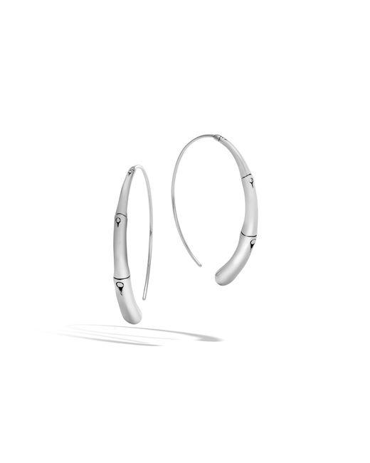John Hardy - Multicolor Large Hoop Earring - Lyst