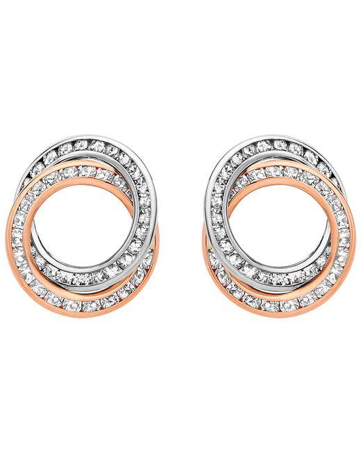 Ib&b - Metallic 9ct Gold Stud Earrings - Lyst
