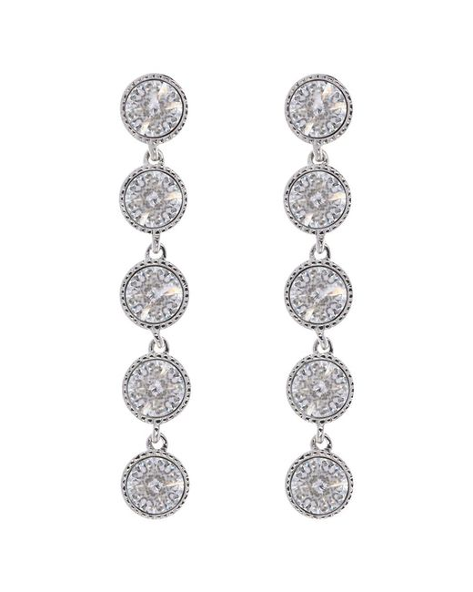 Ted Baker | Metallic Rizza Drop Crystal Earrings | Lyst