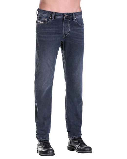 Diesel Larkee-beex 0860q Stretch Tapered Jeans in Blue for ...